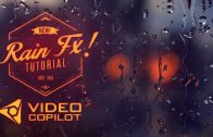 Realistic rain drops – After Effects